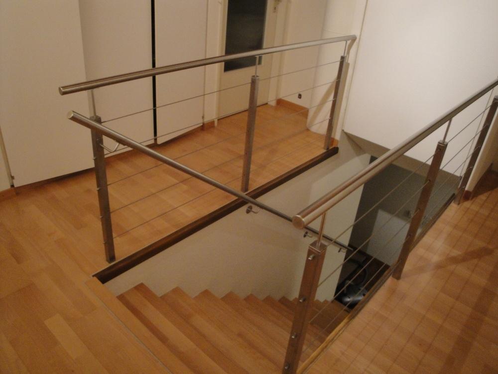 Absturzsicherung Treppe geländer walther metall gmbh